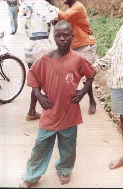 orphan of Rwanda's genocide