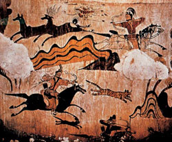 Goguryeo wall painting