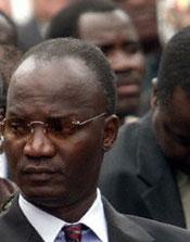 Zimbabwean Information Minister Jonathan Moyo