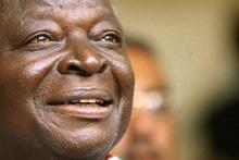 Kenyan President Kibaki