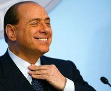 Italian Premier Silvio Berlusconi