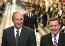 Chirac and Schroeder