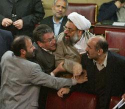 Brawl in the Majlis