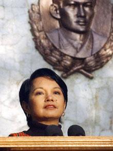 Philippine President Gloria Macapagal-Arroyo