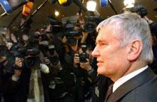 German Interior Minister Otto Schily