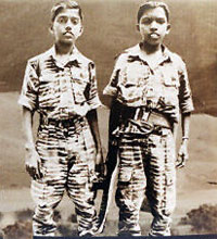 Child soldiers of the LTTE