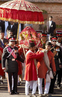 Royal wedding in Nepal