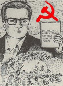 Shining Path propaganda leaflet.