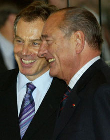 Blair and Chirac
