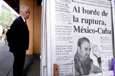 Rift in Cuban-Mexican relations