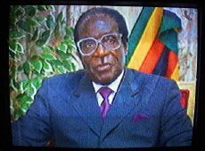 Robert Mugabe on Zimbabwe TV