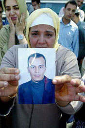 Hamid Mahraz, killed by a suicide bomber at age 33, was survived by his sister.