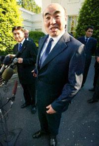 Kyrgyz President Askar Akayev