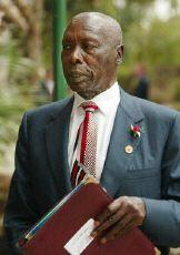Kenyan President Daniel Arap Moi