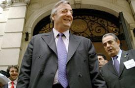 Nestor Kirchner takes Manhattan