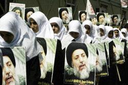 Turkish women mourn slain Shiite Ayatollah Muhammad Baqir al-Hakim