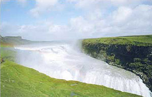 Gulfoss, Iceland's most famous waterfall