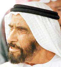 Shaikh Zayid ruled the emirates for 33 years