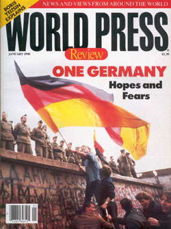 January 1999 cover of World Press Review magazine