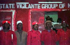 Religious vigilantes in Nigeria