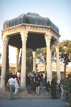 Shrine of Hafez in Shiraz, Iran?