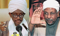 Signers of the Sudanese peace accord