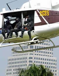 Security Bush visit Bangkok