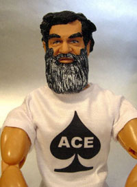 Saddam Hussein action figure