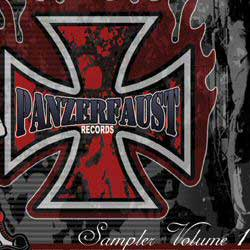 The Panzerfaust hate music CD cover