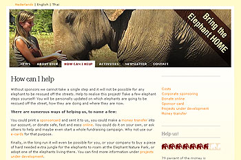 Bring the elephant home project