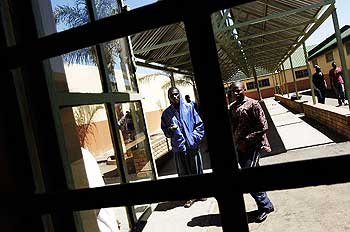Illegal immigrants Lindela detention center