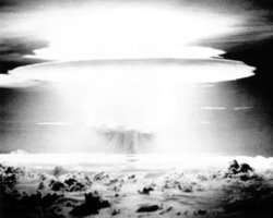 tested a hydrogen bomb design on Bikini Atoll that turned out to be the ...