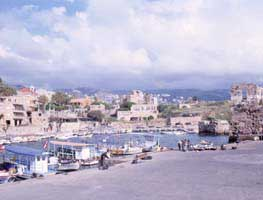 The inlet in Byblos