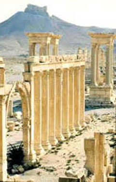 Palmyra's Roman columns