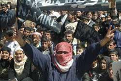 Kurdish Demonstration in Syria
