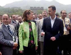 President Bashar al-Asad of Syria