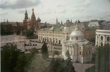 View of the Red Square