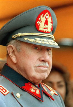 Chile's former dictator Augusto Pinochet