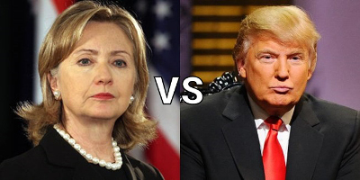 Clinton vs. Trump