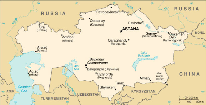 Kazakhstan Oil Gas Pipelines