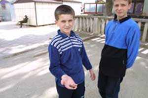 Macedonian children, mafia, and illegal arms
