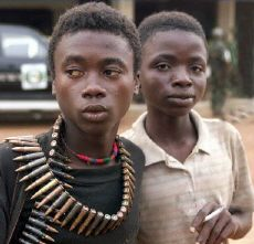 Child combattants, Sierra Leone